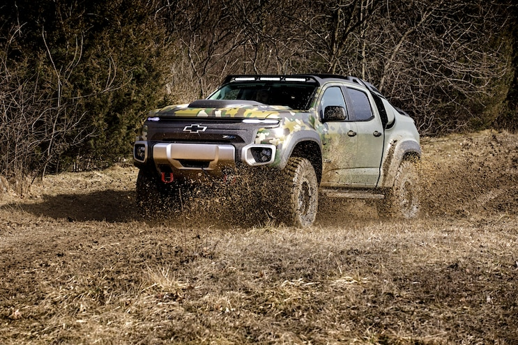 Tardec Chevrolet Colorado Zh2 Hydrogen Fuel Cell Off Road