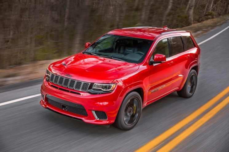 VIDEO: Jeep Officially Debuts 2018 Grand Cherokee Trackhawk Ahead of New York