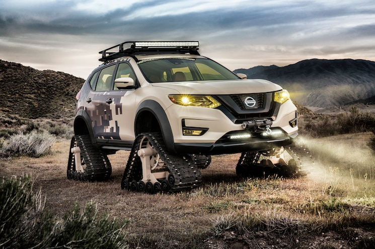 Nissan Shows Rogue Trail Warrior Project Ahead of New York