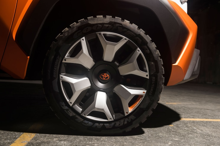 Toyota FT 4x Concept Exterior Wheel View