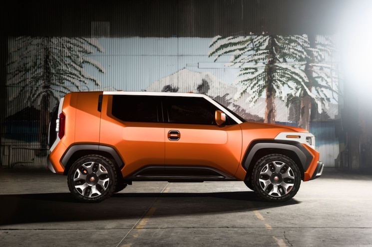 Toyota FT 4x Concept Exterior Side Profile 02