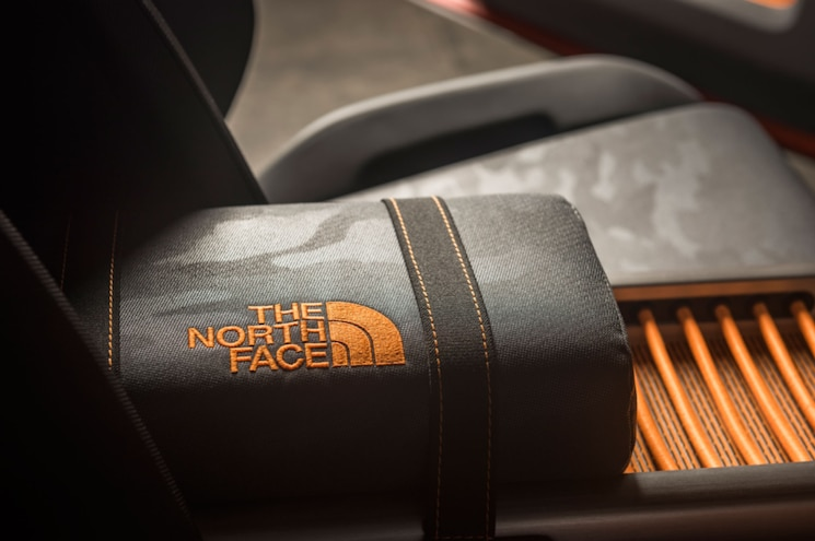 Toyota FT 4x Concept Interior Front Armrest North Face