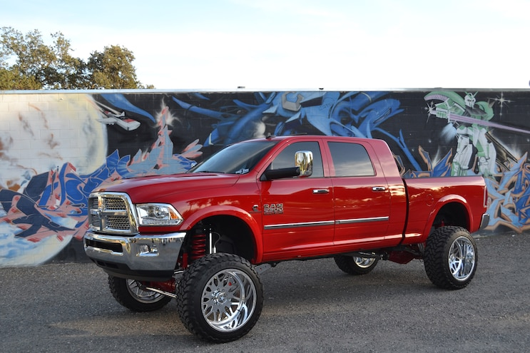 Flame Red 2015 Ram 2500