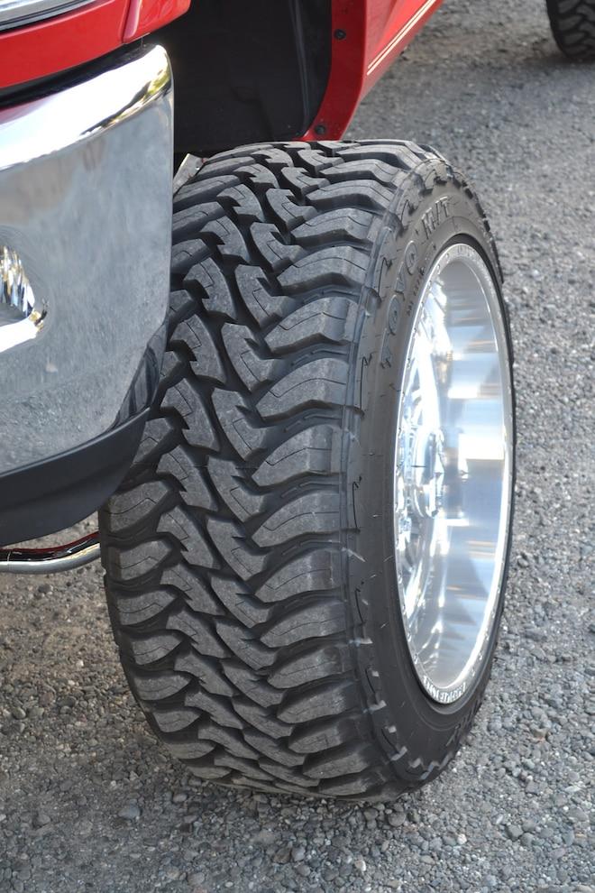 009 Ram Toyo Tires
