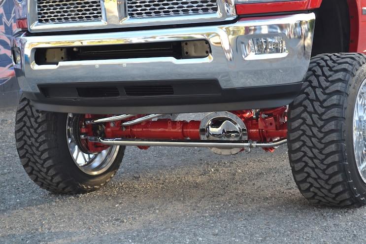 007 Ram Front Axle