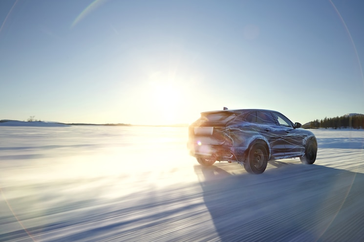Jaguar Puts On a Winter Parka, Climate-Tests F-Pace in Sweden