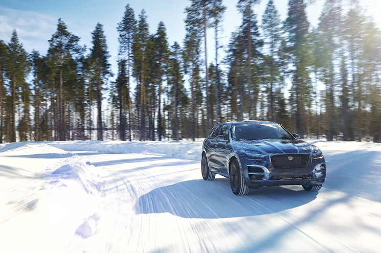 2017 Jaguar F Pace Weather Test 5