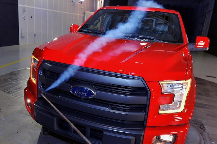 Auto News 8 Lug Work Truck Ford  200 Million Wind Tunnel Aerodynamics Airflow