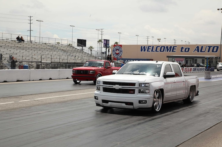 040 2015 Truckin Throwdown Ford Lightning Chevy Silverado Ltz
