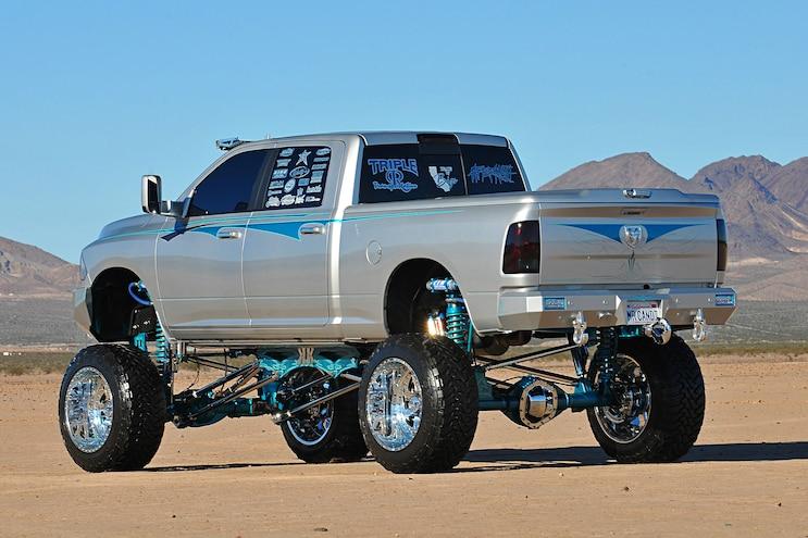 2014 Dodge Ram 2500 Candy Rear