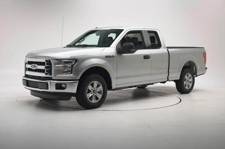 2015 Ford F 150 Supercab Iihs Testing