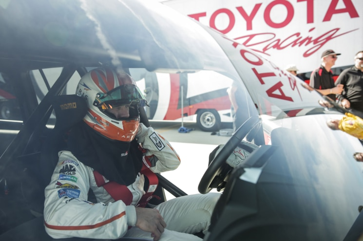 2017 Toyota Land Speed Cruiser Record Run Carl Edwards In Cockpit
