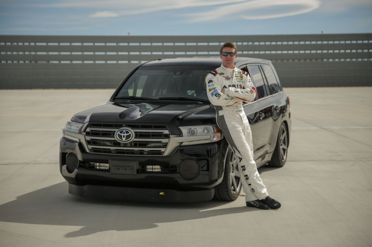 2017 Toyota Land Speed Cruiser Record Run Carl Edwards