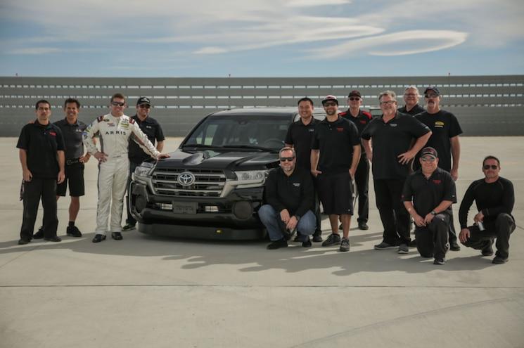 2017 Toyota Land Speed Cruiser Record Run Mtc Team