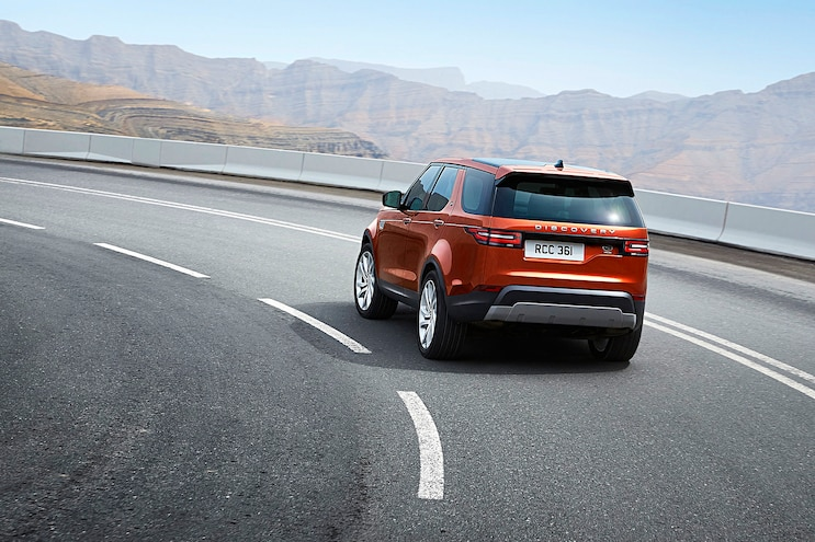 2017 Land Rover Discovery First Drive Rear