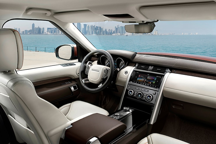 2017 Land Rover Discovery First Drive Interior