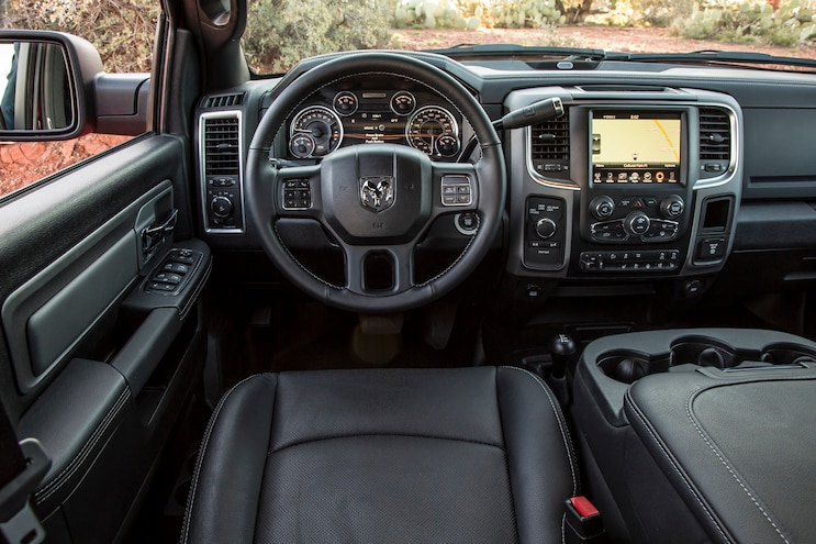 2017 Ram 2500 Power Wagon First Drive Leather Seats