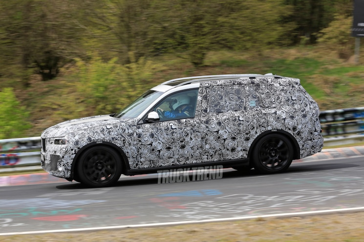 SPIED on the Nürburgring: 2018 BMW X5 and 2019 BMW X7
