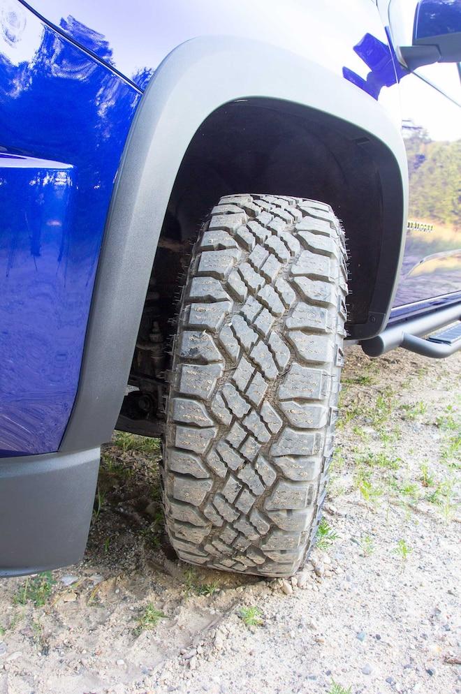 2016 Chevrolet Colorado Z71 Trail Boss Goodyear Duratrac All Terrain Tires