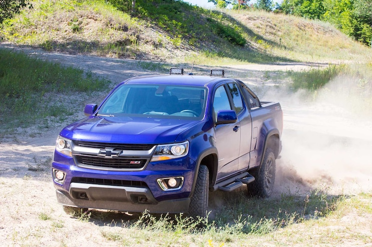 2016 Chevrolet Colorado Z71 Trail Boss Front View