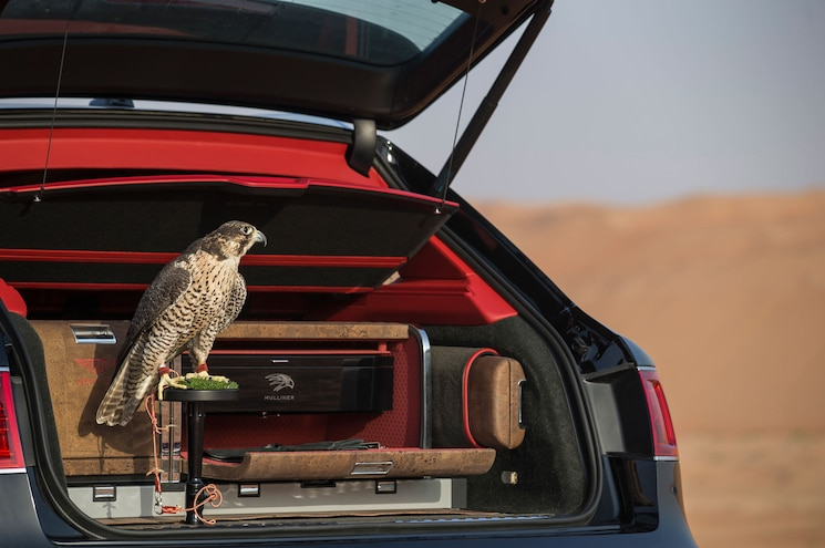 "Bentley Creates Unique ""Bentayga Falconry by Mulliner"""