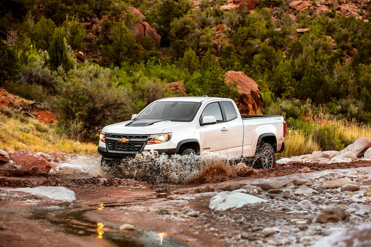 2017 Chevrolet Colorado Zr2 First Drive In Water