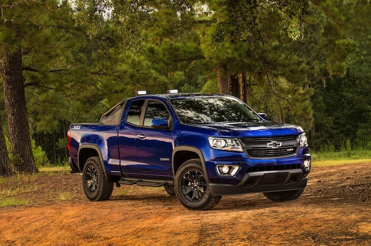 2016 Chevrolet Colorado Trail Boss Front Three Quarters Front Three Quarters 2