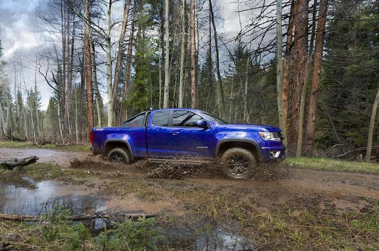 2016 Chevrolet Colorado Trail Boss In Motion