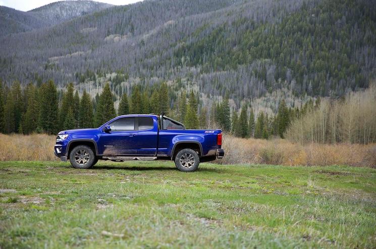 2016 Chevrolet Colorado Trail Boss Side 2