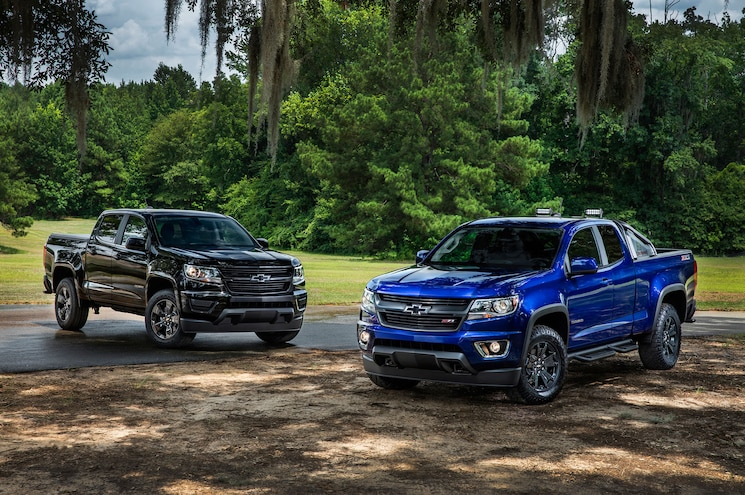 2017 Chevrolet Colorado Features New V-6, Eight-Speed Auto