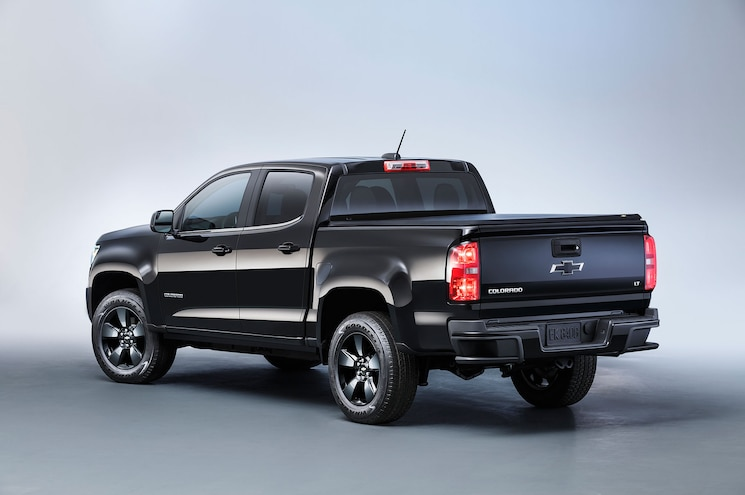 2016 Chevrolet Colorado Midnight Edition Rear Quarter Studio