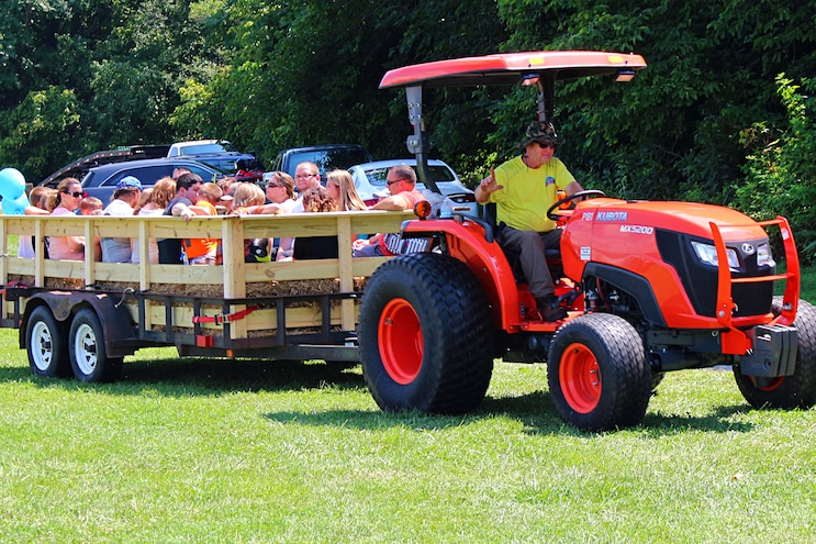 Roanoke Virginia Touch A Truck Event Ride