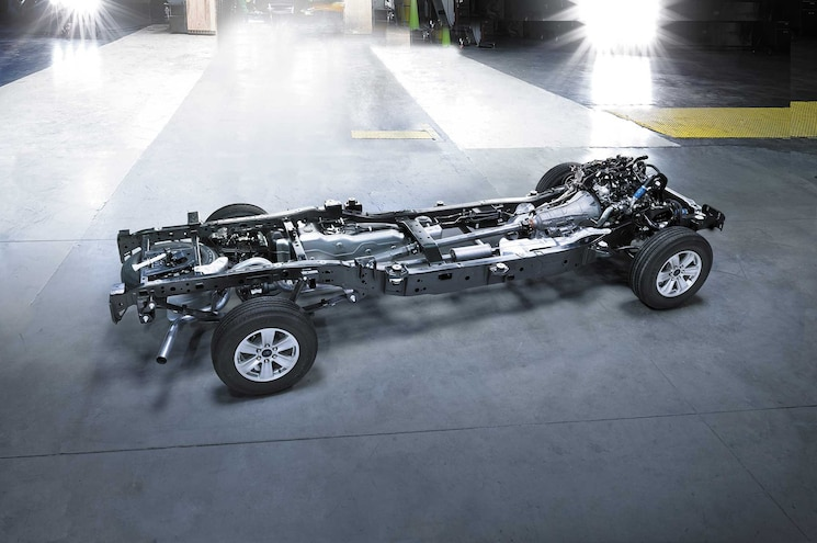 Auto News Work Truck Ford F 150 Frame Shortage Aluminum