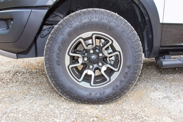 2015 Ram 1500 Rebel Wheel