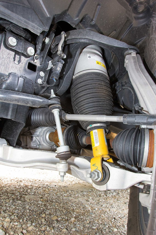 2015 Ram 1500 Rebel Front Air Suspension