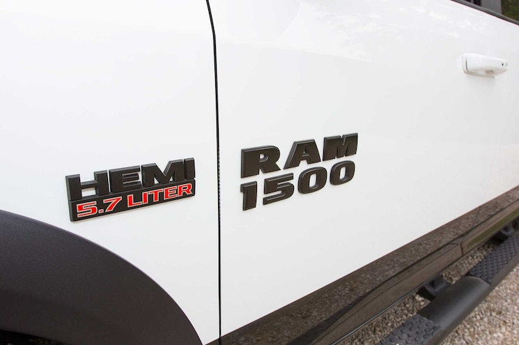 2015 Ram 1500 Rebel Side Badging