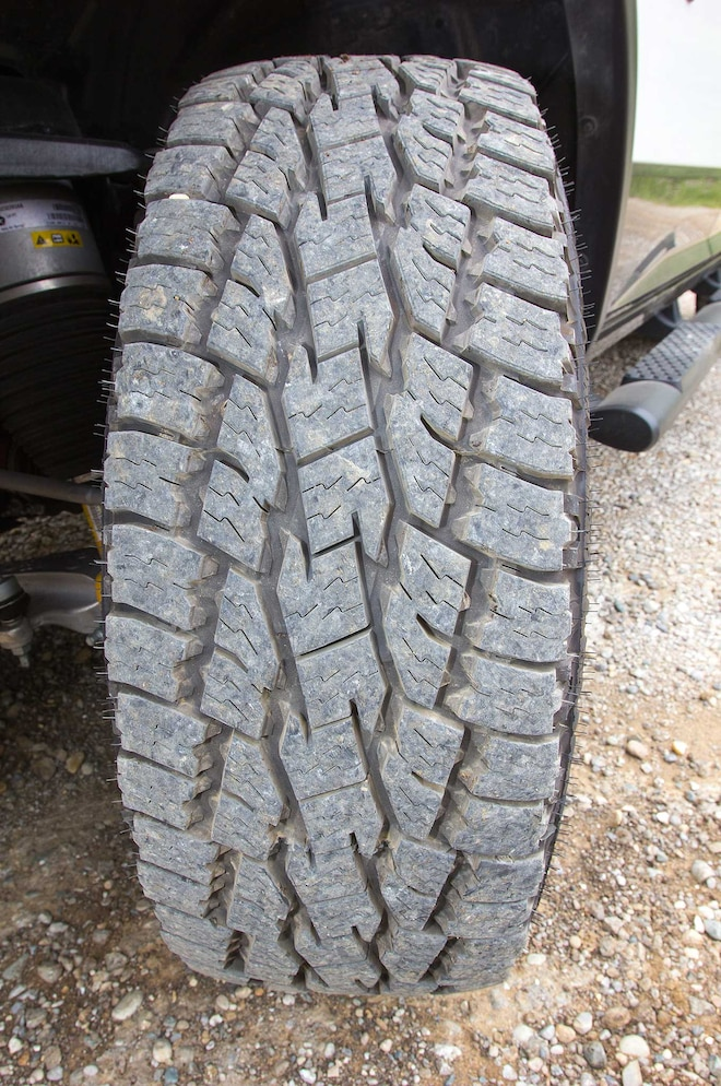 2015 Ram 1500 Rebel Tire Tread