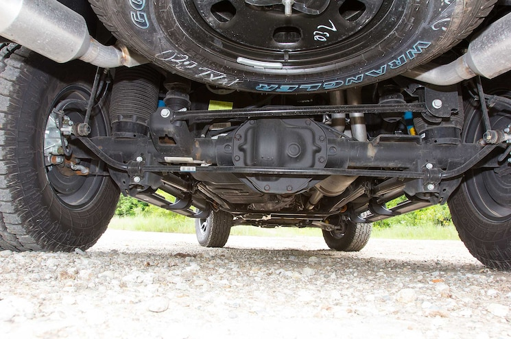 2015 Ram 1500 Rebel Rear Suspension