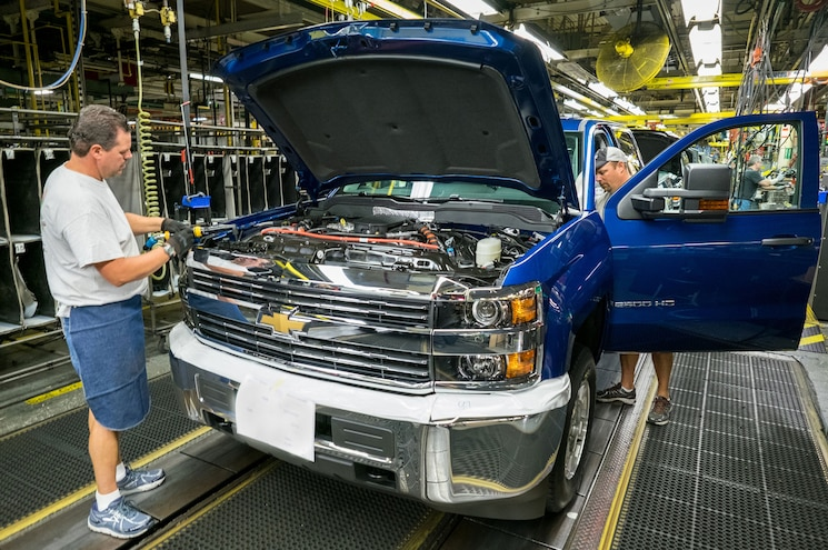 GM Reportedly Moving More Truck Production from Mexico to Michigan