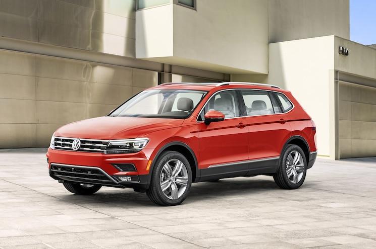 2018 Volkswagen Tiguan Us Spec Front Quarter