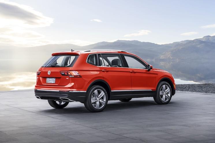 2018 Volkswagen Tiguan Us Spec Rear Quarter