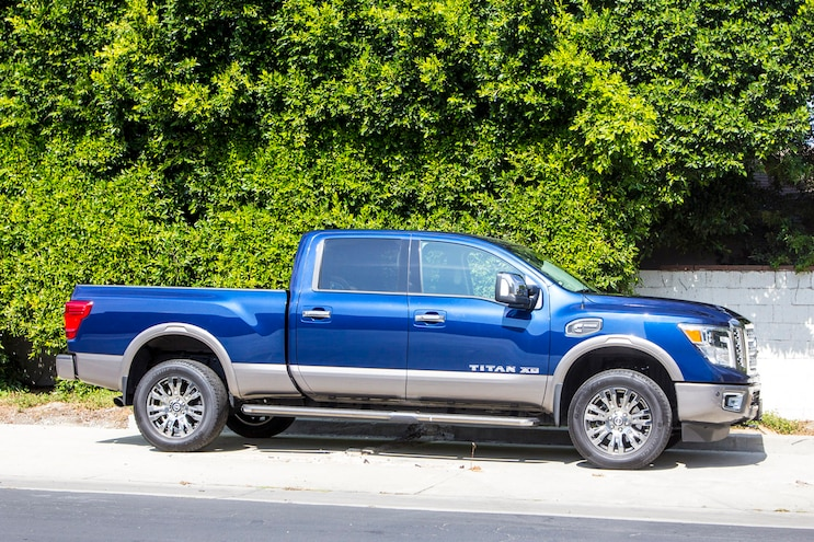 2016 Nissan Titan Xd Report 3 Side View
