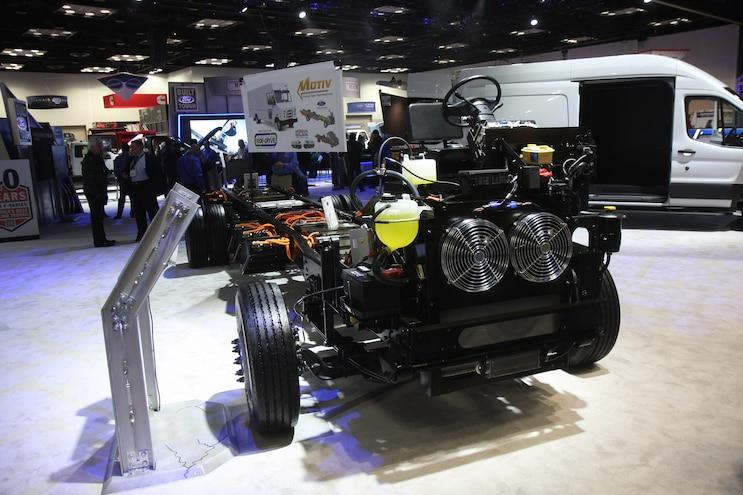 2017 NTEA Work Truck Show Motiv Power Systems