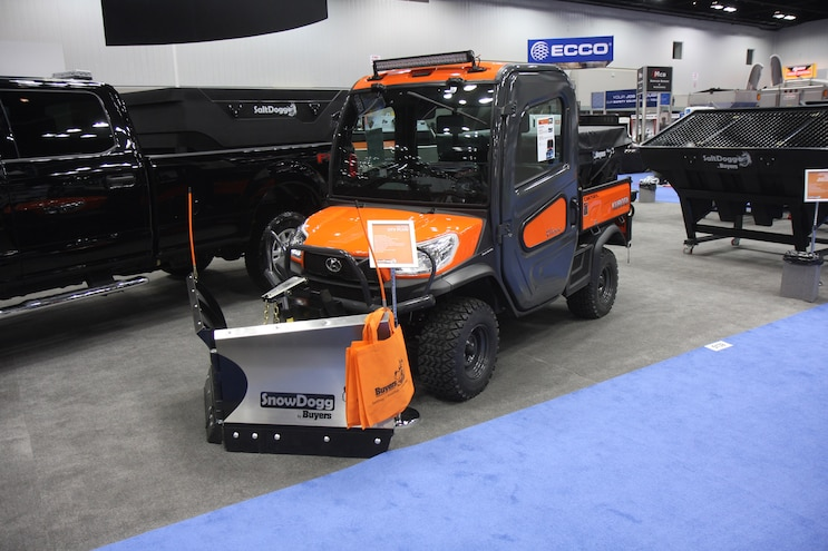 2017 NTEA Work Truck Show Snowdogg