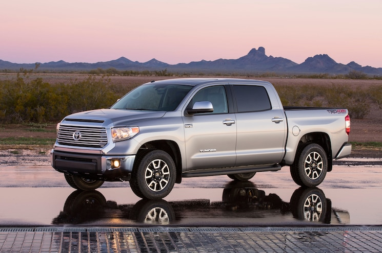 2015 Toyota Tundra Limited Front Three Quarter