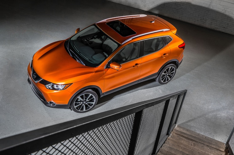 2018 Nissan Rogue Sport Front Quarter From Above