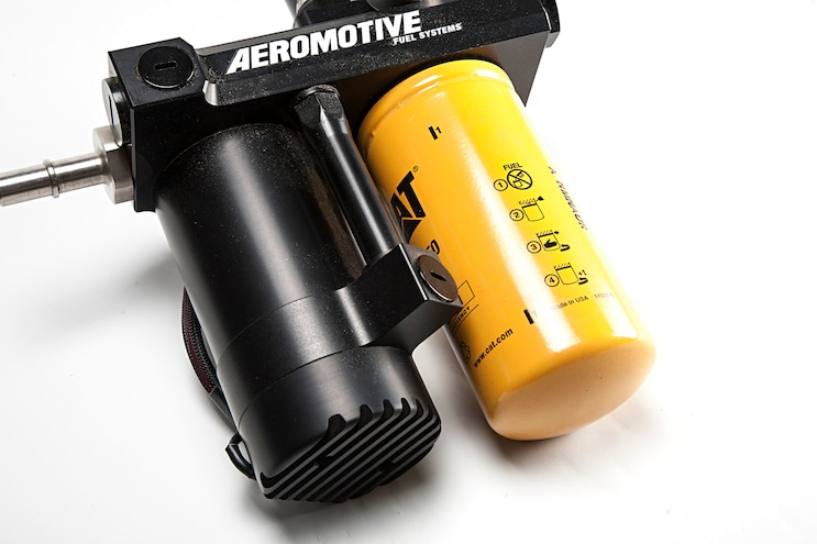 006 Aeromotive Psp Diesel Lift Pump Powerstroke Cat Filter