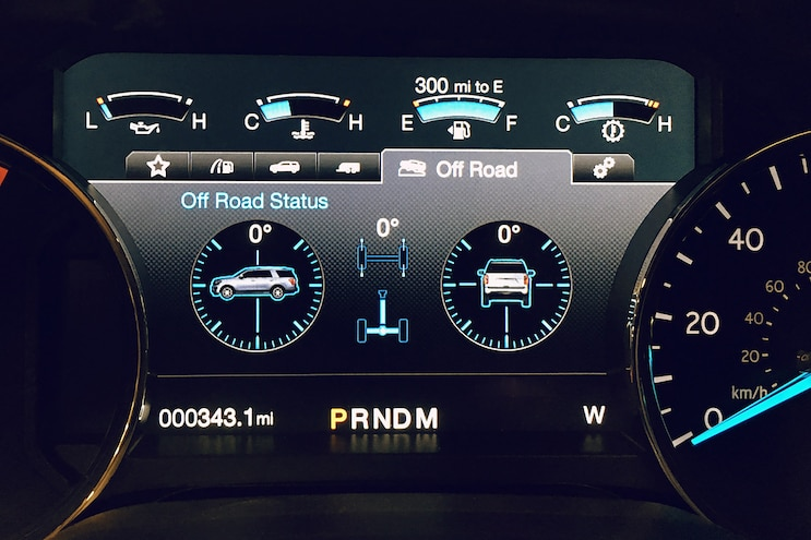 2018 Ford Expedition FX4 Gauge