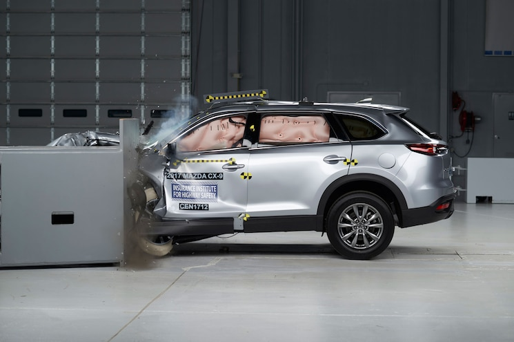 Mazda CX-9 Named Top Safety Pick + by IIHS