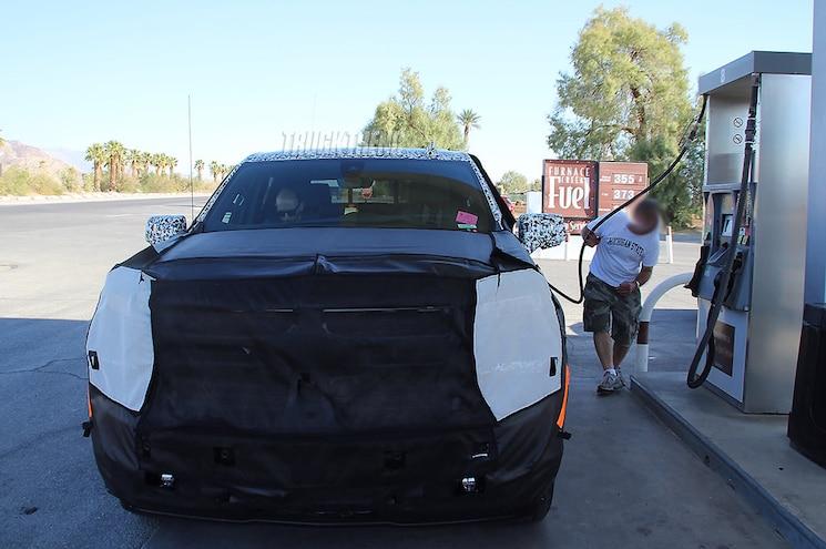 2019 Chevrolet Silverado 1500 Diesel Front View